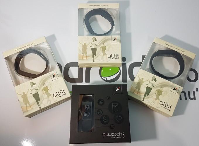 4 premii, 4 km - Câștigă unul dintre cele 4 smartband-uri Allview: 3 x Allfit și 1 x Allwatch S smartband concurs allview