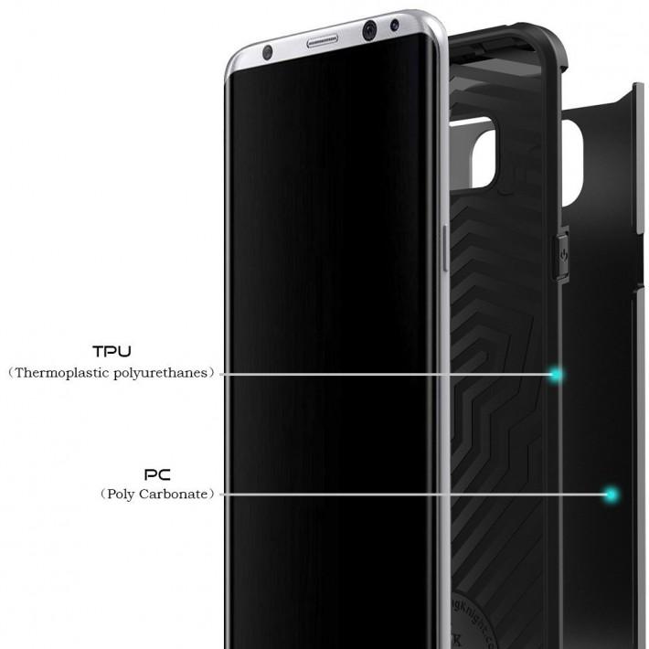 Producătorul de carcase Lightning Knight confirmă și el design-ul și dimensiunile lui Galaxy S8 Plus case galaxyc s8