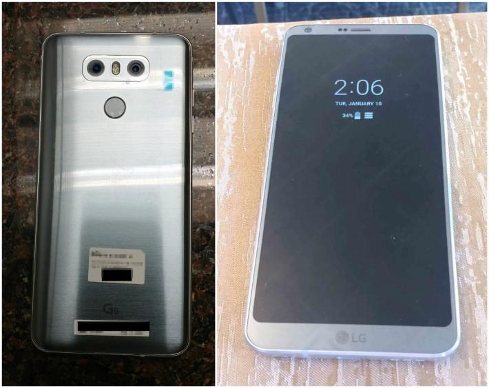 Noi imagini cu LG G6 au apărut pe Internet g6 lg