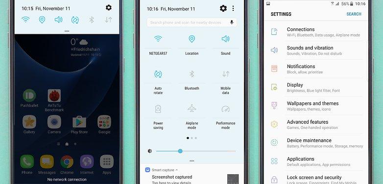 Samsung Galaxy S7/S7 edge a primit Nougat in România  - primele 24 de ore nougat s7 update
