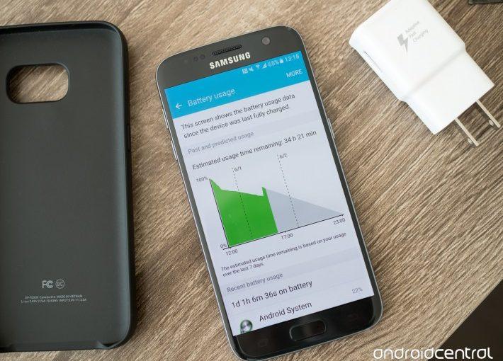 Android 7 vine pe Samsung Galaxy S7/S7 Edge cu o problemă referitoare la viața bateriei nougat s7 android
