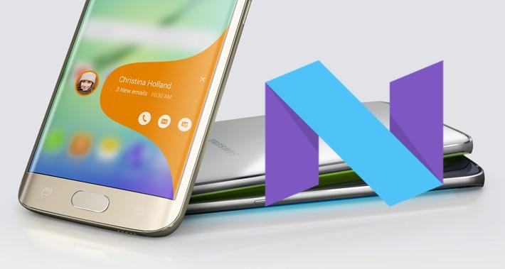 Samsung a lansat manualul de utilizare Android 7.0 pentru Galaxy S6 nougat s6 samsung