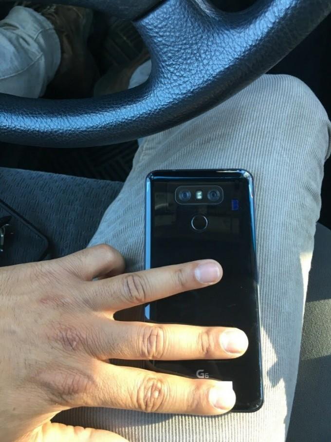 Spatele lui LG G6 ne este prezentat într-o nouă fotografie lg g6