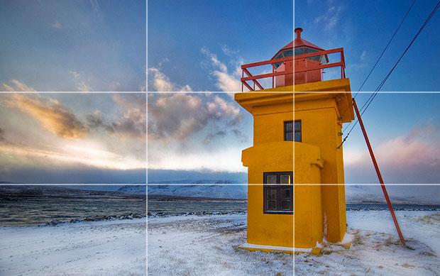 lighthouse-rule-of-thirds Cum să faci o fotografie bună cu smartphone-ul tău