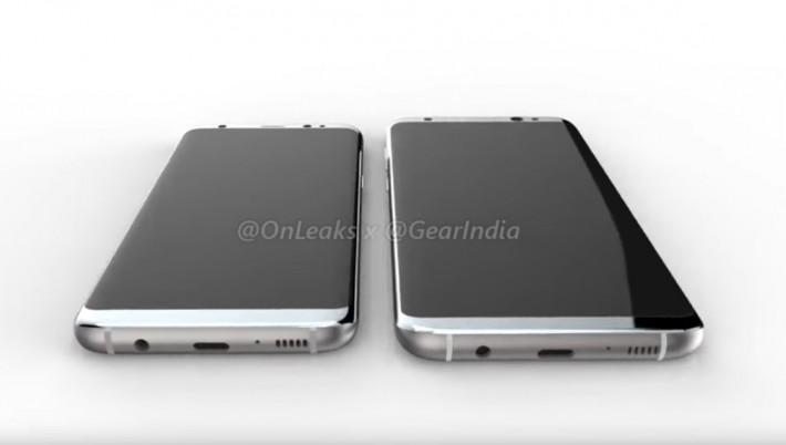 O nouă randare impresionantă a lui Samsung Galaxy S8 Render s8 design