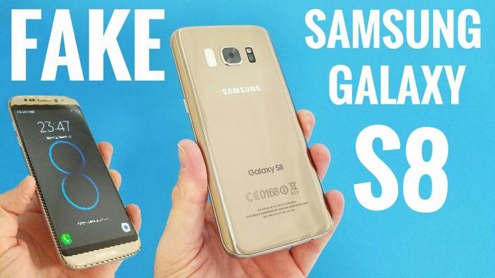 Clona lui Galaxy S8 se bucură de un prim unboxing fake s8