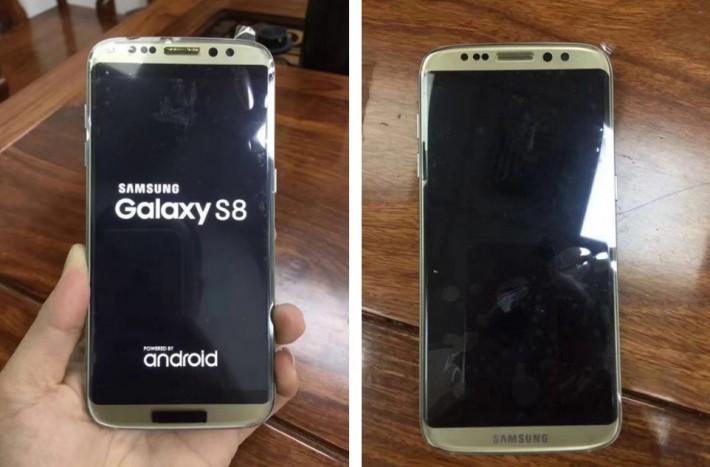 Clona lui Galaxy S8 deja lansată în China fake samsung