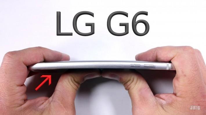LG G6 a fost supus unui test al durabilității lg g6