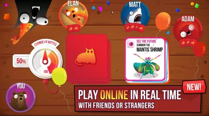 Exploding Kittens - jocul săptămânii la 70 de bani deal