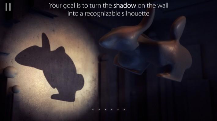 Shadowmatic - un joc despre perspectivă [5 coduri promo] puzzle