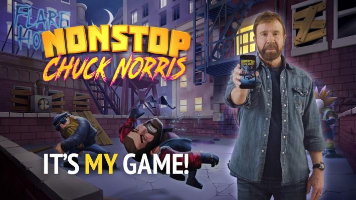 Nonstop Chuck Norris - nu tu rulezi jocul, jocul te rulează pe tine arcade