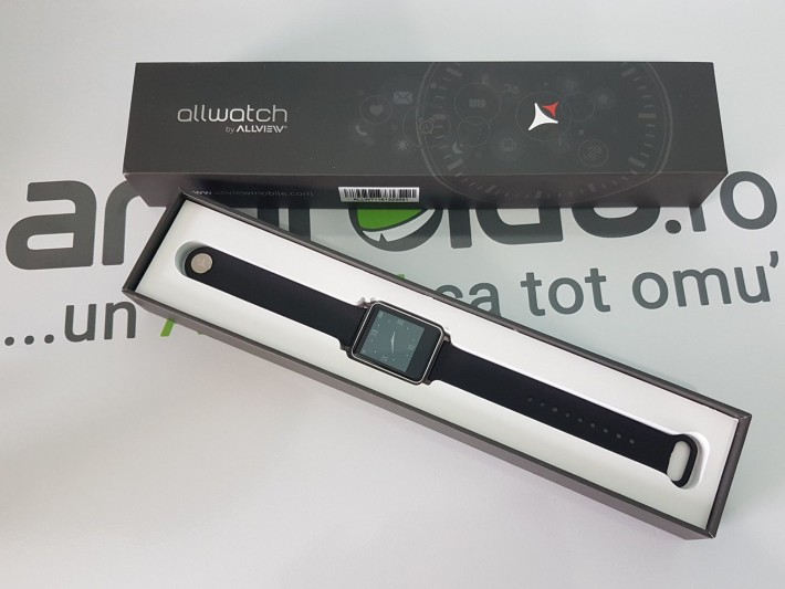 Câștigă smartwatch-ul Allview Allwatch concurs allview