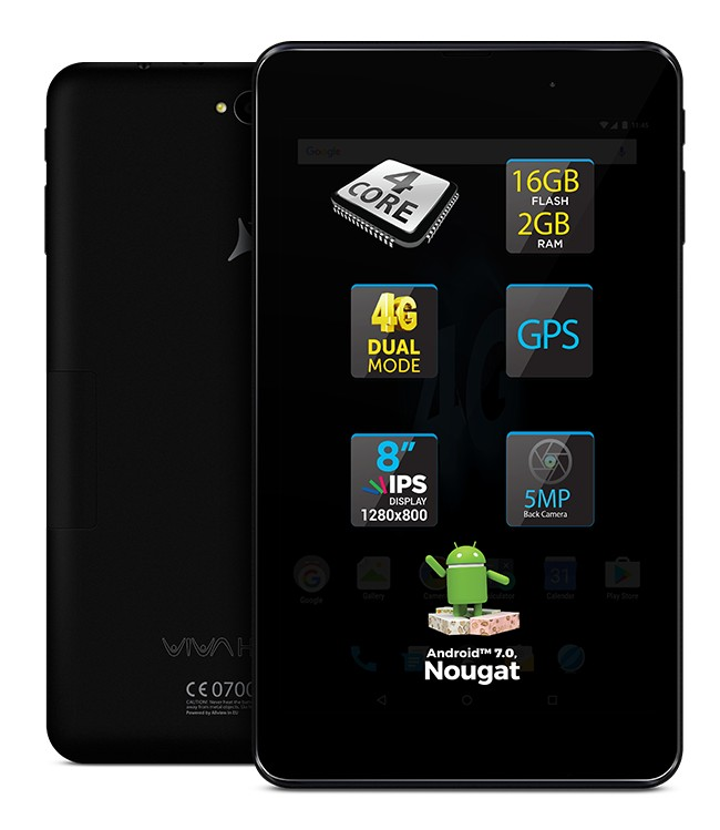 Allview a lansat tabletele de buget Viva H1002 LTE și Viva H802 LTE viva allview