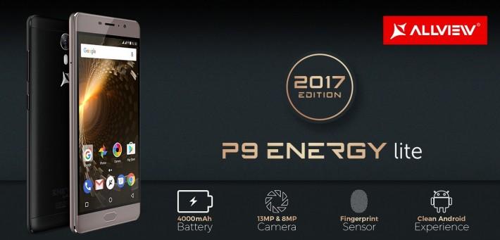 Allview a lansat P9 Energy Lite 2017, cu baterie de 4000 mAh energy allview