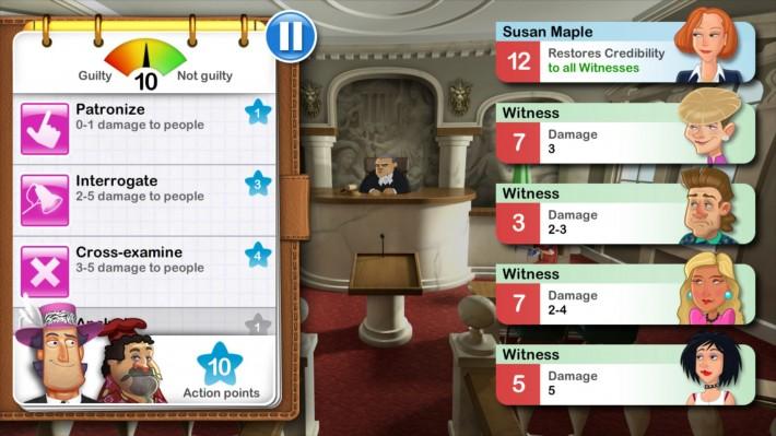 Devil's Attorney - joc turn-based strategy în fața judecătorului [ 19 coduri promo ] funny cases attorney