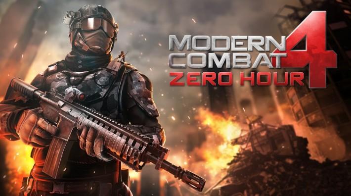 Modern Combat 4: Zero Hours și un widget de vreme - aplicațiile săptămânii la 0.70 lei widget sales gameloft
