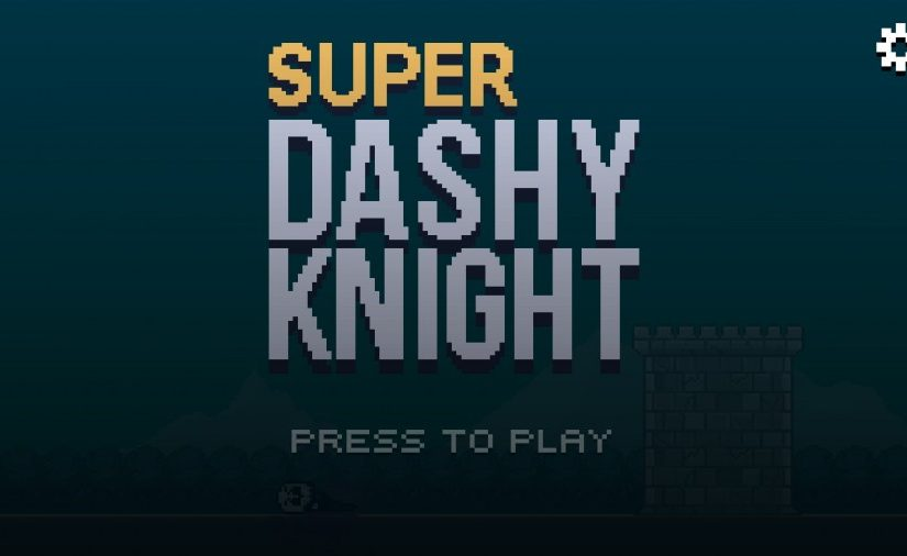 Super Dashy Knight - runner old school pixel art