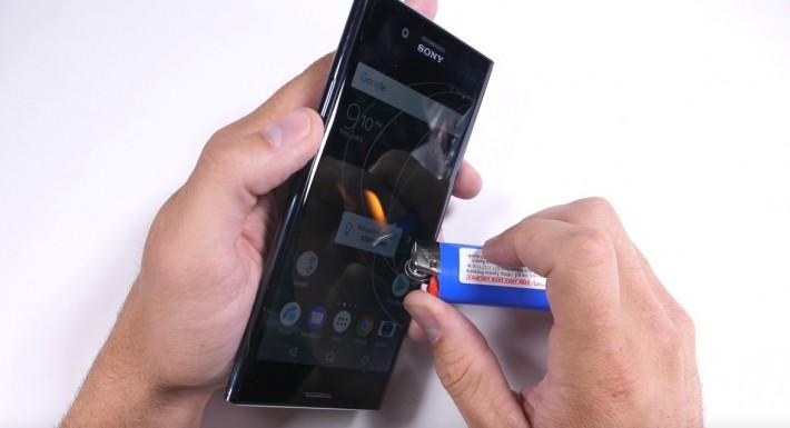 Xperia XZ Premium a fost supus și el testelor de rezistență xz xperia sony