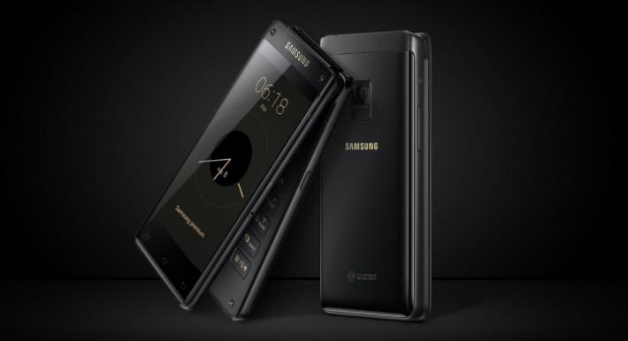 Samsung a lansat oficial smartphone-ul Leader 8 (SM-G9298) samsung flip