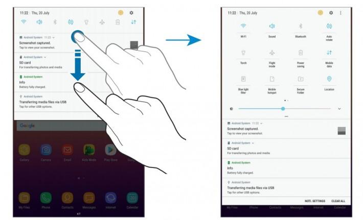 Manualul lui Galaxy Tab A 8.0 2017 a fost făcut public tab samsung