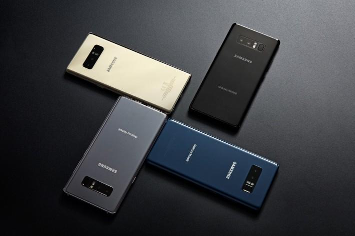 Samsung Galaxy Note 8 a fost lansat oficial: ecran de 6.3 inch și cameră duală cu zoom optic samsung note featured