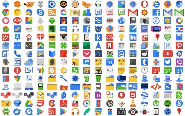 13 icon pack-uri gratuite pentru o perioadă limitată de timp pack icons free android