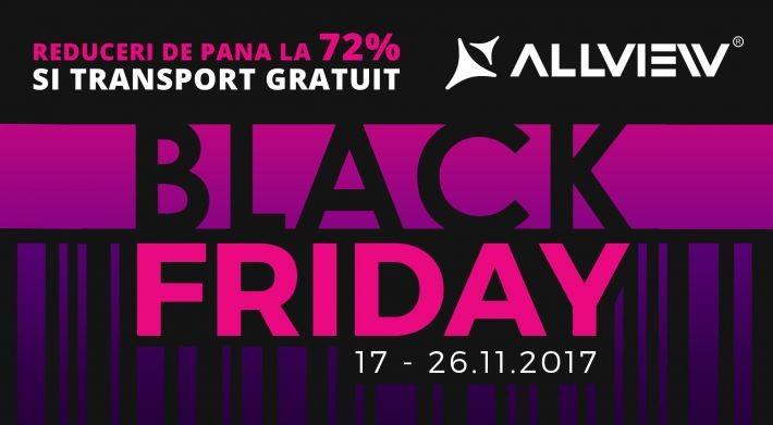 Black Friday la Allview: 10 zile de reduceri, 100.000 de produse, 1,5 milioane de euro reduceri bf allview