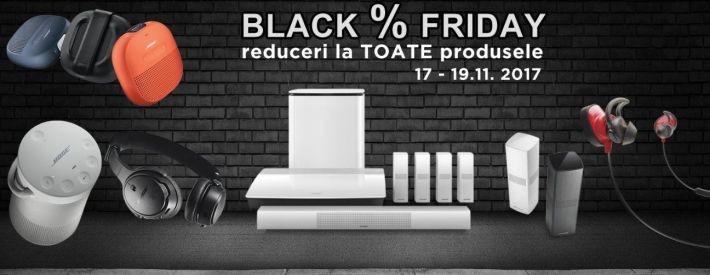 3 zile cu reduceri de Black Friday pe site-ul Bose România bose