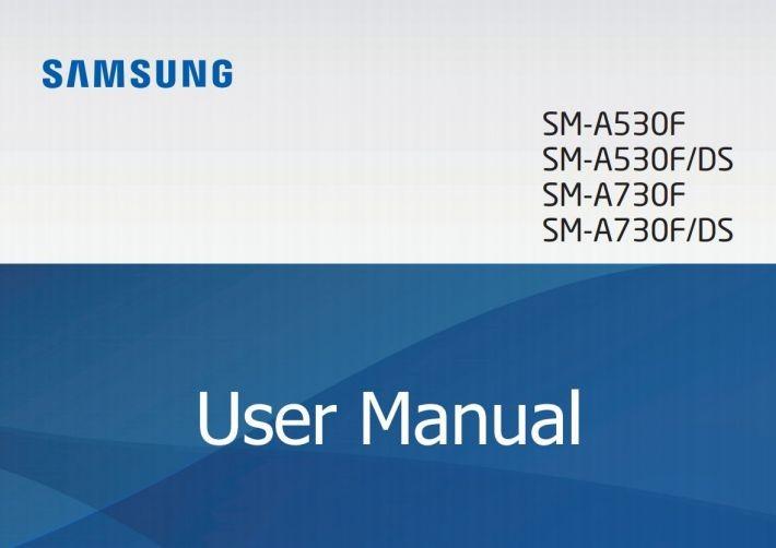 Manualul de utilizare al lui Samsung Galaxy A8/A8+ (2018) a fost făcut public a5 a7 samsung galaxy