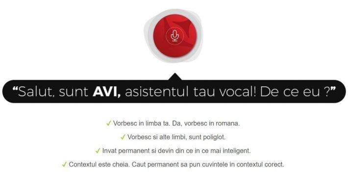 Asistentul vocal AVI de la Allview vine cuo interfață nouă și accesmairapid la funcțiile telefonului avi allview