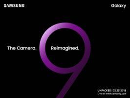A mai trecut un an și Samsung anunță data evenimentului de lansare pentru Galaxy S9 unpacked samsung s9 featured