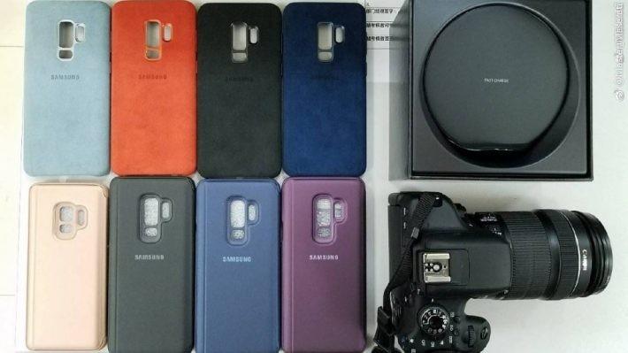 Husele originale pentru Galaxy S9 și S9+ apar în primul material video s9 samsung galaxy