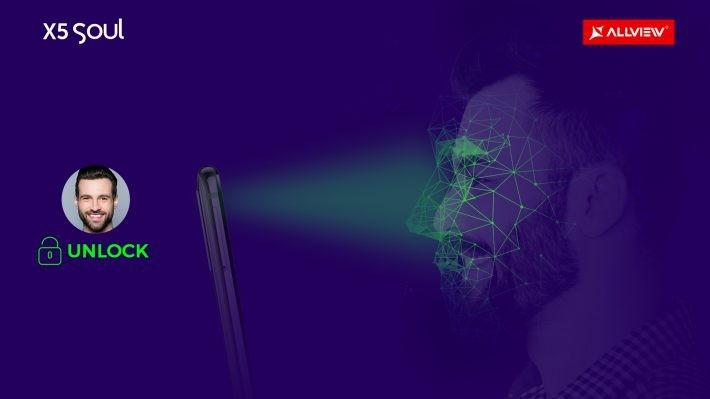 Allview X5 Soul va integra tehnologie Deep Face ID pentru runoaștere facială 3D soul allview