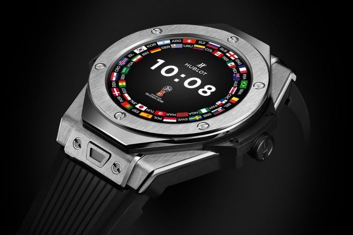 Hublot a anunțat smartwatch-ul cu Wear OS de 5200$ luxury smartwatch