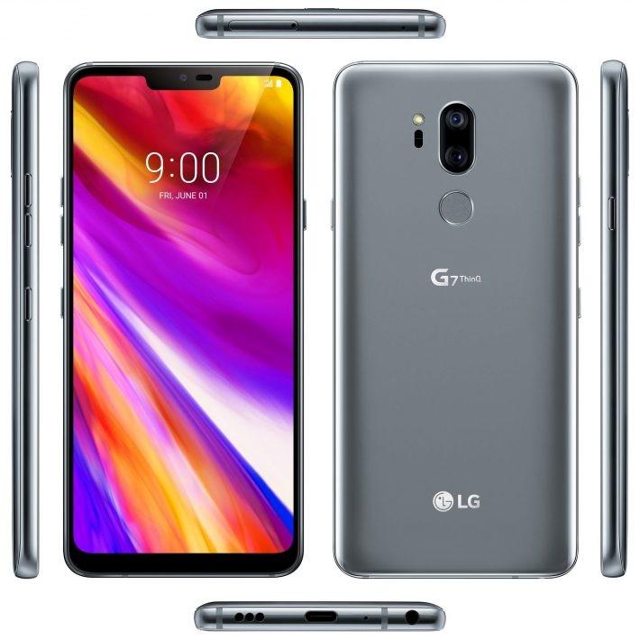 LG G7 ThinQ apare într-o nouă imagine care confirmă design-ul lg g7