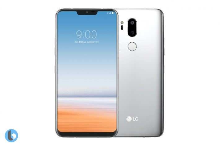 LG G7 ThinQ apare într-o nouă imagine care confirmă design-ul g7 lg