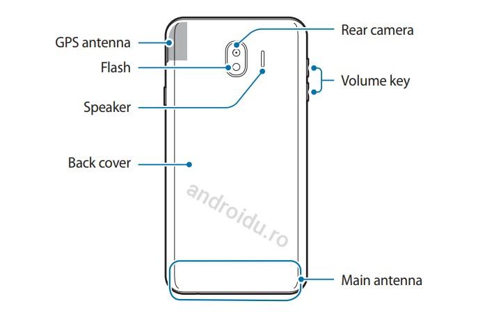 Manualul lui Samsung Galaxy J4 (2018) a fost făcut public pe site-ul oficial samsung manual j4