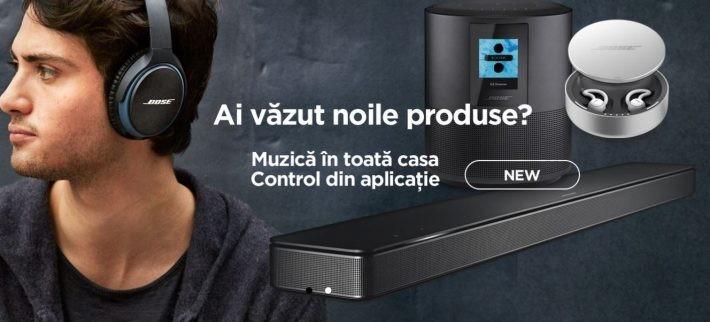 Bose în România oferă reduceri la toate produsele de Black Friday bose audio