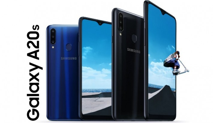 Galaxy A20s a fost listat pe pagina Samsung Thailanda a series samsung