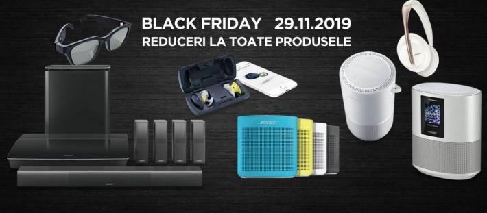 Black Friday Bose 2019 – reduceri la toate produsele Vineri, 29 noiembrie bose