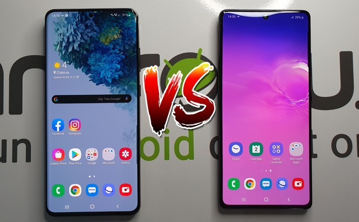 Flagship vs mid-range în 2020 - Samsung Galaxy S20 Ultra vs Galaxy S10 Lite s20ultra s10lite ost samsung featured