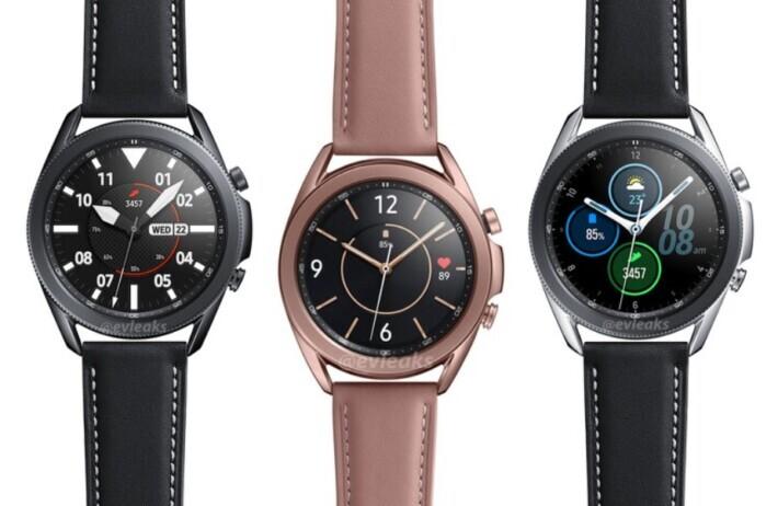 Galaxy Watch3 confirmat oficial în 2 versiuni de mărime și material watch leak samsung