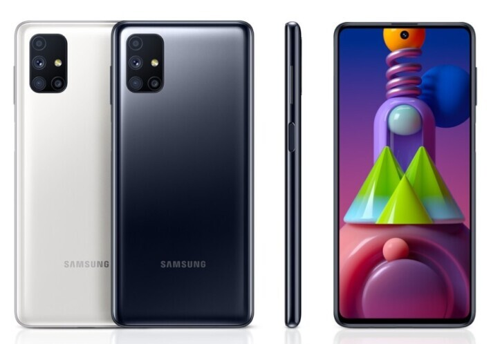 Samsung Galaxy M51 este publicat oficial pe site-ul Samsung Germania m series leak samsung